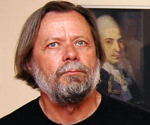 Uwe Pfeifer - einer der bekanntesten Maler aus Halle an der Saale, Foto: Martin Schramme
